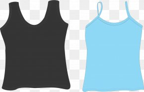 T-shirt - Top Sleeveless Shirt T-shirt Clip Art PNG