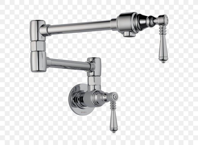 Tap Stainless Steel Brushed Metal Bathroom Kitchen, PNG, 600x600px, Tap, Bathroom, Brushed Metal, Franke, Handle Download Free
