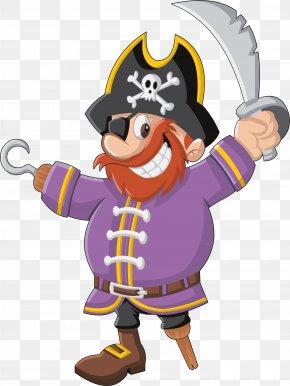 Cartoon Pirates - Piracy Drawing Illustration PNG