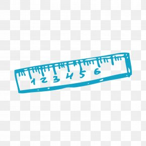 Blue Scale - Scale Ruler PNG