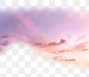 Cloud - Cloud Sunset Afterglow PNG