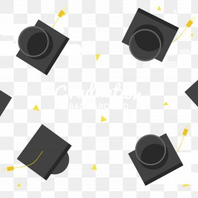 Graduation Season In The Sky Bachelor Cap - Hat Graduation Ceremony Bachelor's Degree Master's Degree Cap PNG