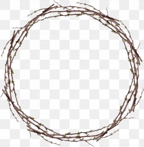 Twigs Ring - Twig Download Clip Art PNG