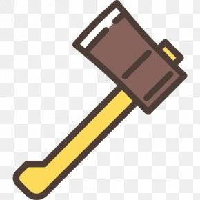 A Big Ax - Axe Cutting Icon PNG