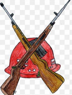 Red Spear - Firearm Handgun Icon PNG