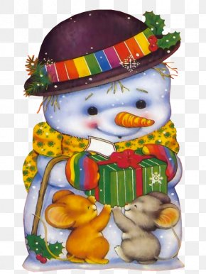 Snowman - Old New Year Christmas Ornament Snegurochka Clip Art PNG