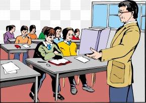 Teacher Element - Student Teacher Classroom School Clip Art PNG