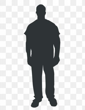 Outline Of A Man - Person Outline Clip Art PNG