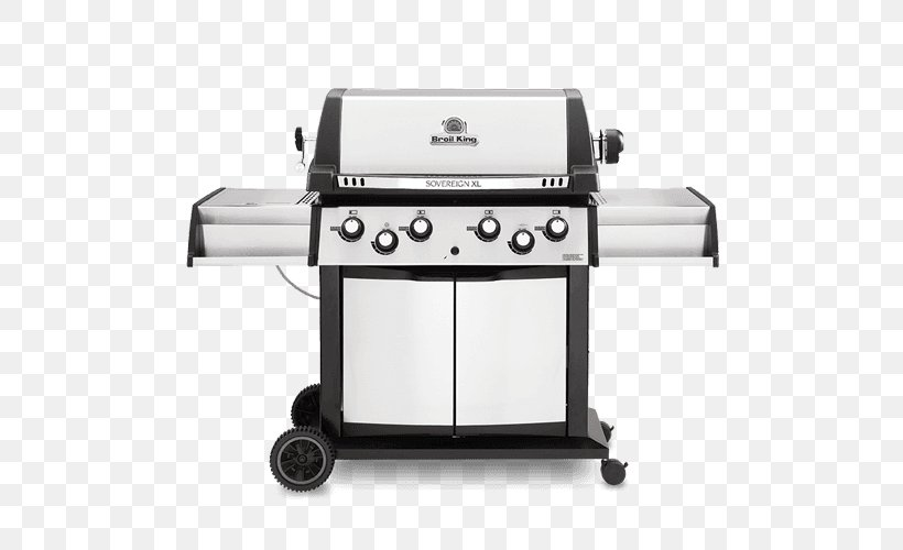 Barbecue Grilling Gasgrill Broil King Regal S440 Pro Broil King Sovereign 90, PNG, 500x500px, Barbecue, Broil King Baron 490, Broil King Baron 590, Broil King Imperial Xl, Broil King Portachef 320 Download Free