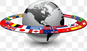 WORLD - Globe Flags Of The World Flags Of The World PNG