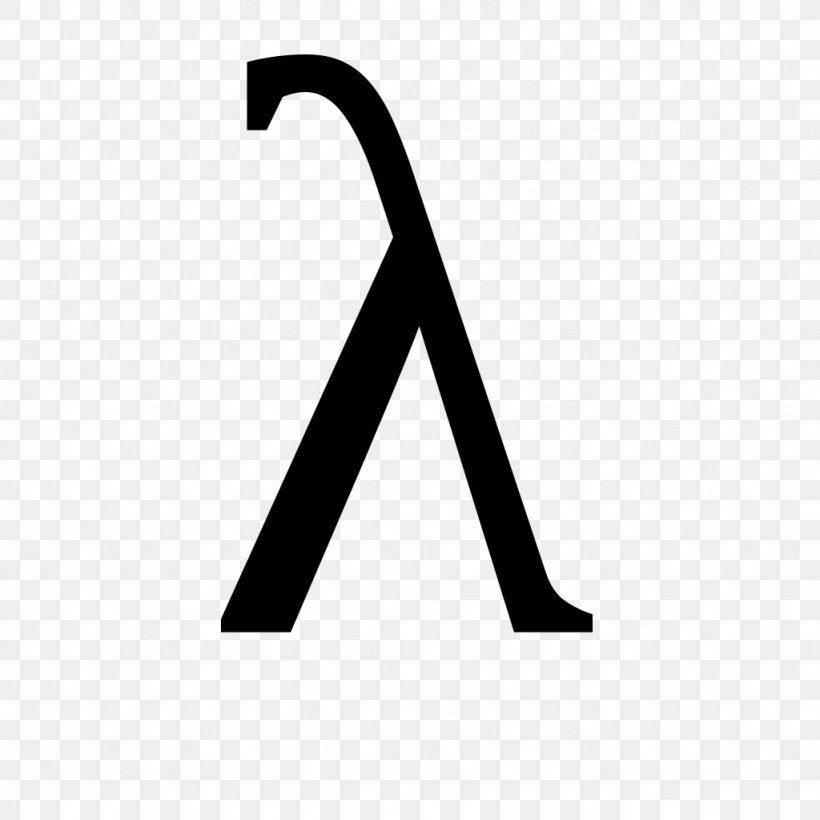 Lambda Greek Alphabet Nu Rho Chi, PNG, 1024x1024px, Lambda, Anonymous Function, Black, Black And White, Brand Download Free