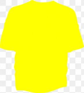 T-shirt - T-shirt Yellow Clothing Clip Art PNG
