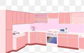 Kitchen Effect - Kitchen Cabinet Furniture Illustration PNG