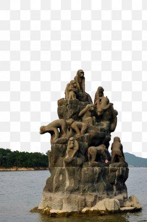 Monkey Island Lake - Qiandao Lake Suodao Bird Island Monkey PNG
