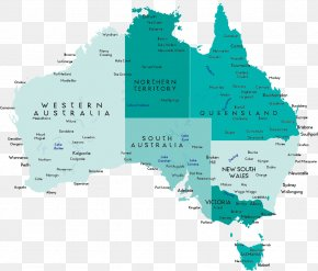 Map Of Australia - Australia Vector Map Clip Art PNG