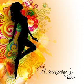 Womens Day Download Clipart Png - International Women's Day Woman Greeting & Note Cards Wish March 8 PNG