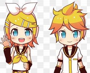 Twins - Kagamine Rin/Len Vocaloid Hatsune Miku: Project DIVA Electric Angel Megurine Luka PNG