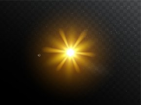 Shine Stage Light Effect - Light Sky Atmosphere Circle Wallpaper PNG