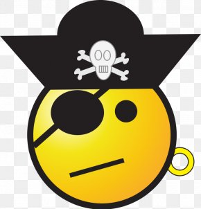 Pirate Images Free - T-shirt Emoticon Smiley Piracy Clip Art PNG