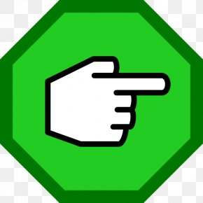 Hand Pointing - Index Finger Index Finger Thumb PNG