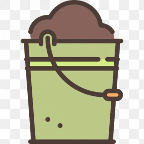 A Blue Bucket - Bucket Icon PNG