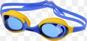 Swimming Goggles - Goggles Glasses Blue Swimming Plastic PNG
