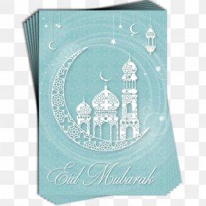 Eid Al Fitr First Day - Eid Al-Adha Eid Al-Fitr Eid Mubarak Greeting & Note Cards Blue PNG