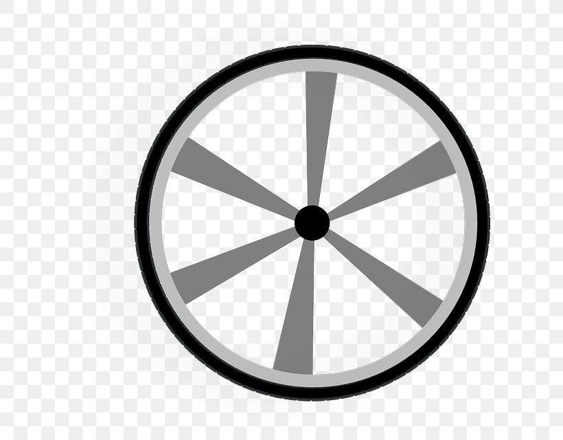 Train Wheel Car Clip Art, PNG, 640x640px, Wheel, Bicycle, Bicycle Part, Bicycle Wheel, Black And White Download Free