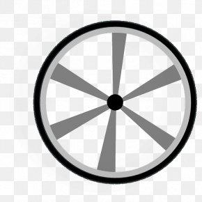 Wheel Rim Clipart - Train Wheel Car Clip Art PNG