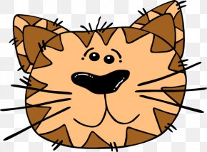 Cat Faces Cartoons Images - Cat Kitten Whiskers Clip Art PNG