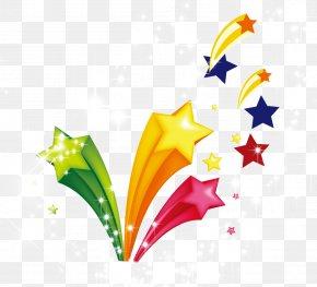 Festive Elements Festive Celebration Elements Colorful Star - Logo PNG