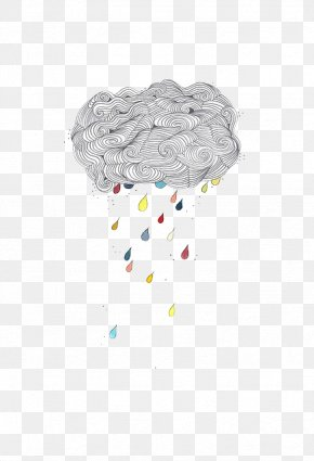 Rain Clouds - Rain Cloud Drop Illustration PNG