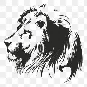 Leon - Lionhead Rabbit Tiger Wall Decal Cat PNG