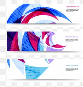 BANNERS - Web Banner Geometry Euclidean Vector PNG