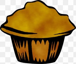Cupcake Muffin - Yellow Baking Cup Clip Art Cookware And Bakeware Muffin PNG