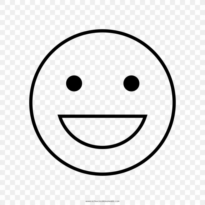Smiley Line Art Drawing Coloring Book Png 1000x1000px