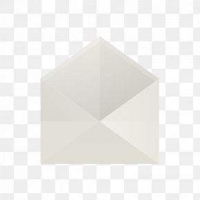 Envelope - Triangle White PNG