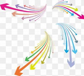 Vector Colorful Arrows - Arrow Euclidean Vector Clip Art PNG