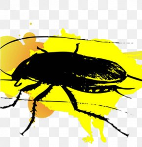 Yellow Background Cockroach - Puzzle Android Application Package Download Computer File PNG