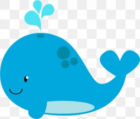 Cute Little Whale - Beluga Whale Drawing Blue Whale Clip Art PNG
