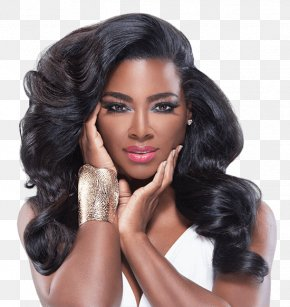 Kenya Moore Hair Care - Kenya Moore The Real Housewives Of Atlanta Hair Care Hairstyle PNG