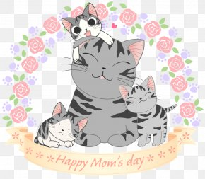 Mother's Day - Mother's Day Drawing Kavaii Child PNG