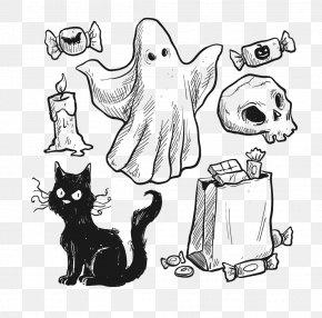 Halloween - Halloween Euclidean Vector Trick-or-treating PNG