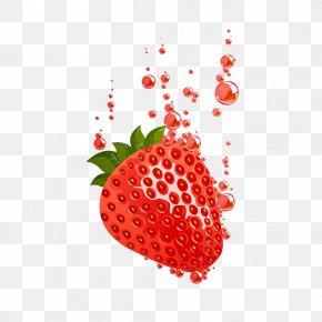 Strawberry - Juice Strawberry Waffle Trifle PNG