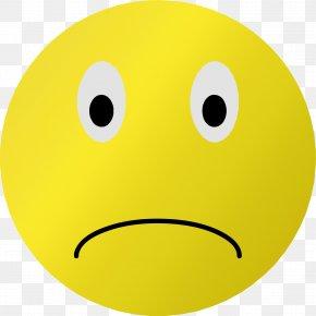 Sad Emoji - Smiley Emoticon Frown Clip Art PNG