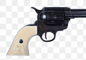 Weapon - Colt Single Action Army Colt's Manufacturing Company Colt Buntline Firearm Revolver PNG