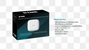 Wave Panels Box - D-Link IEEE 802.11ac Wireless Access Points Wireless Network PNG