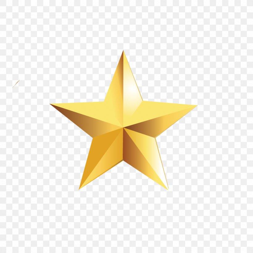 Star Polygon Pentagram Gold Yellow, PNG, 1000x1000px, Star Polygon, Color, Fivepointed Star, Gold, Pentagram Download Free