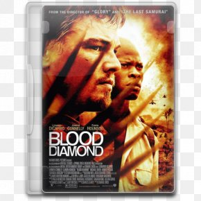 Blood Diamond - Poster Action Film Album Cover PNG