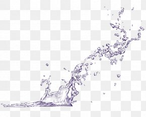 From Top To Bottom Water - Water Splash Drop PNG